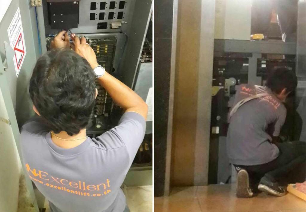 ปรับปรุงระบบลิฟต์